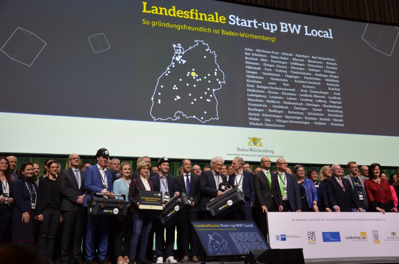 Start-up Messe Stuttgart